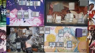 Sisay vs Yuriko vs Azami vs Momir vig EDH gameplay