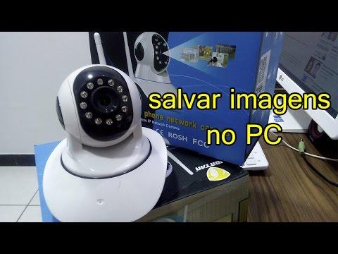 Câmera IP HD Salvando os Vídeos no PC Acesso Remoto L Gyn