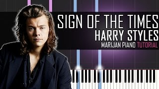 How To Play: Harry Styles - Sign Of The Times | Piano Tutorial