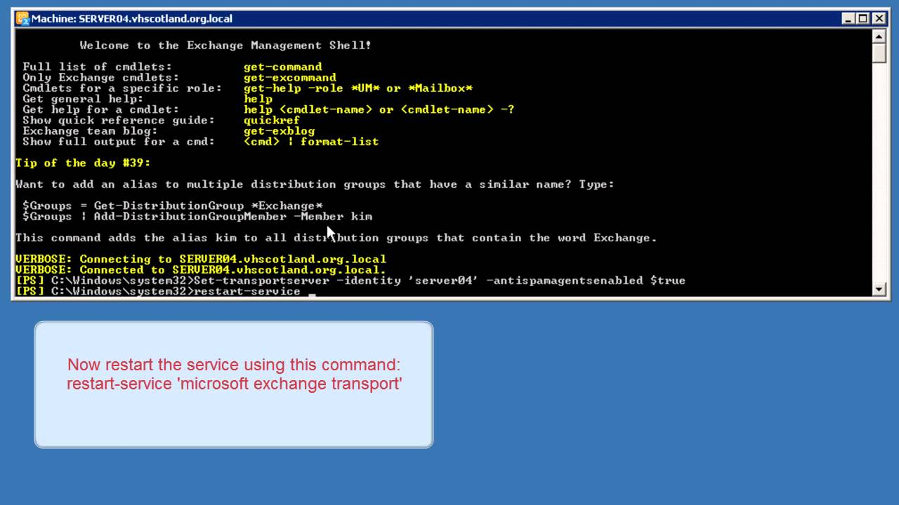 How To Enable Anti Spam Feature on Exchange 2010 Server YouTube