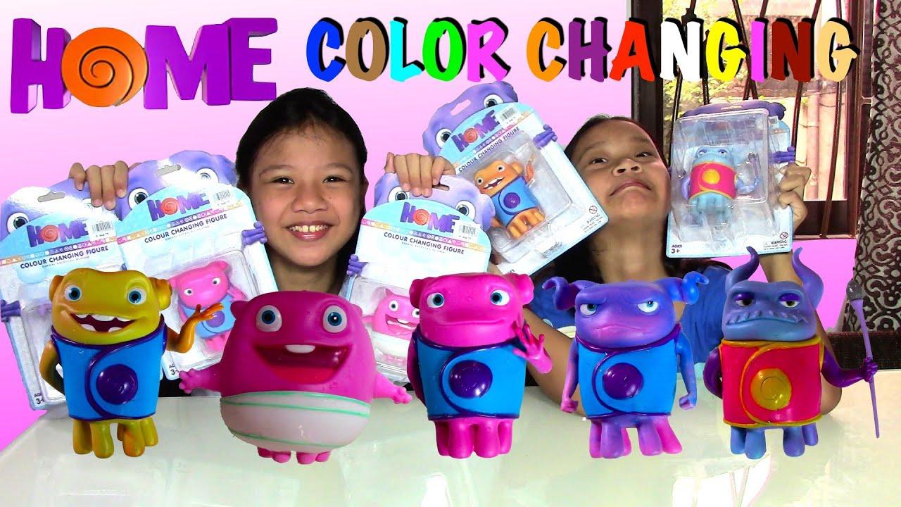 DreamWorks Home Color Changing Figures Kids Toys