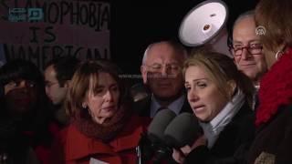مصر العربية | نواب ديمقراطيون يشاركون بتظاهرة في واشنطن ضد قرار ترامب المتعلق باللاجئين