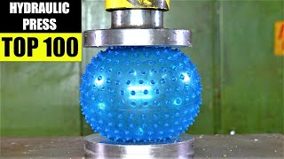 Top 100 Best Hydraulic Press Moments VOL 6 | Satisfying Crushing Compilation