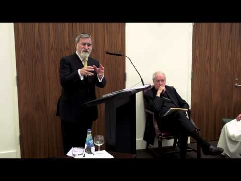 Rabbi Jonathan Sacks at the Catholic Center at NYU, Part II