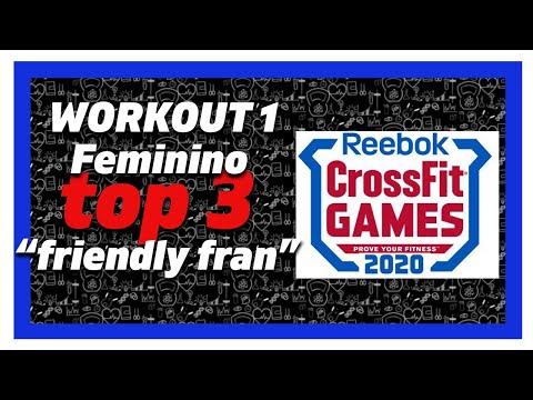 �� crossfit games 2020 workout 1 feminino ���� crossfit games 2020 ao vi