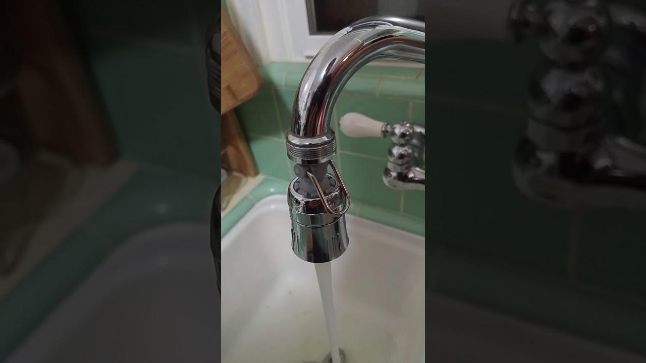 Niagara Conservation Kitchen Faucet Aerator - YouTube