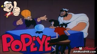 POPEYE THE SAILOR MAN: The Crystal Brawl (1957) (Remastered) (HD 1080p)