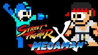 Street Fighter X Mega Man: Ryu Boss