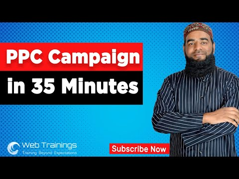 Learn PPC Campaign In 35 Minutes - PPC Tutorial For Beginners In Hindi