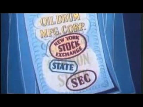 How the Stock ket Works Cartoon Tutorial Economics and Investing Video (1952)