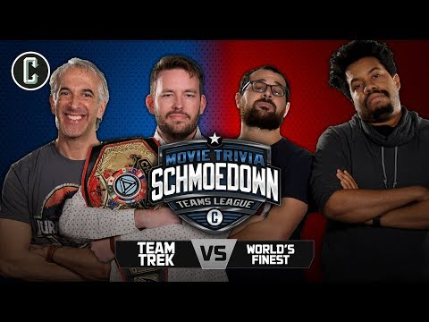 Team Trek VS The World's Finest - Movie Trivia Schmoedown