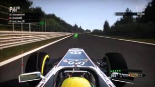 F1 2011 PS3 - Gameplay online