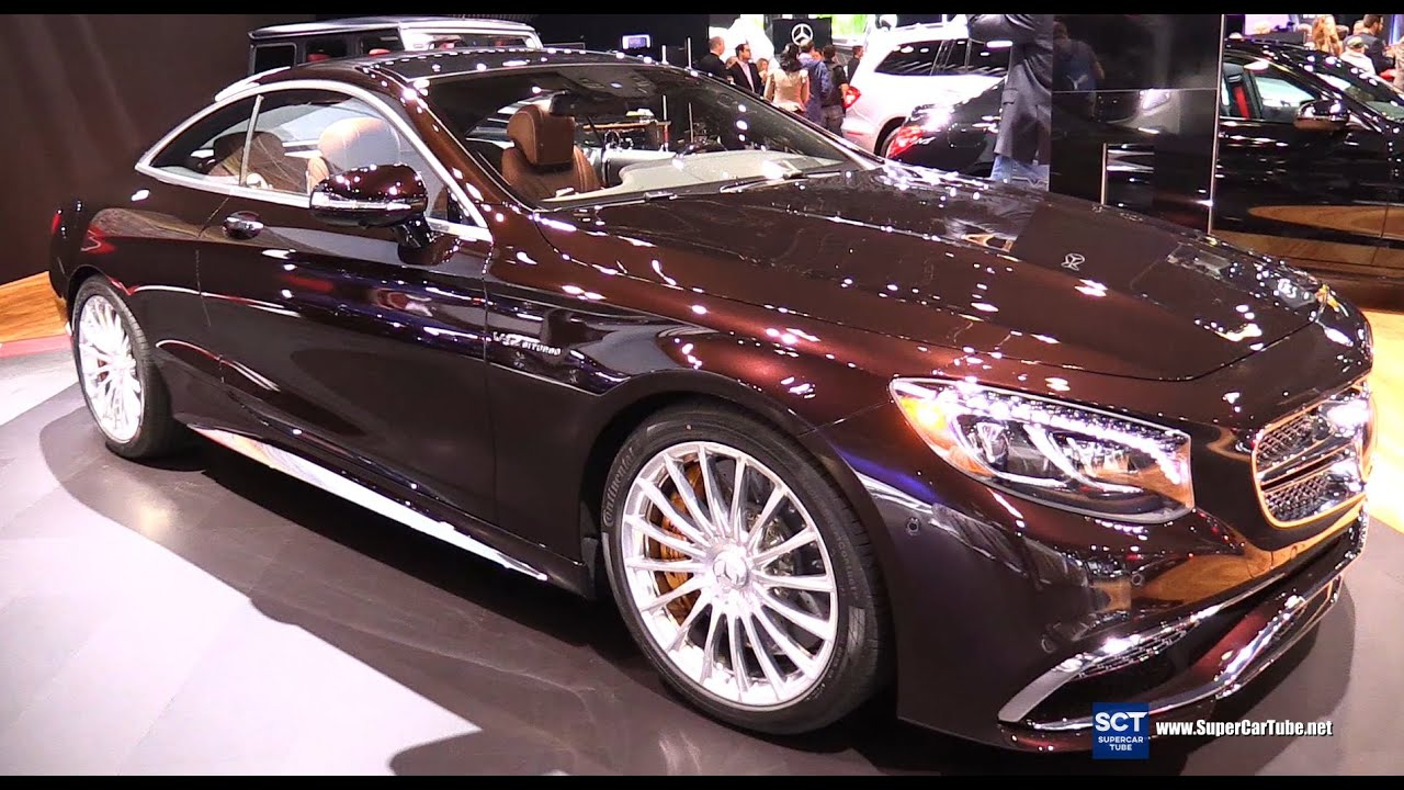 2016 mercedes benz s class coupe s65 amg v12 exterior interior walkaround 2015 la auto show. Black Bedroom Furniture Sets. Home Design Ideas