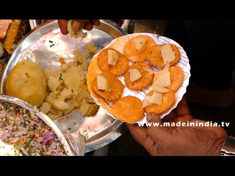 Sev puri indian canape vegetarian fast food recipe 4k video sev puri indian canape vegetarian fast food recipe 4k video street food forumfinder Image collections