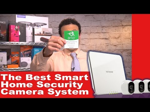 The Best Smart Home Security Camera System – Installation DIY