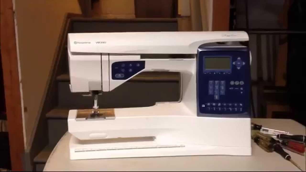 Husqvarna Sapphire 830 Viking Sewing Machine How To