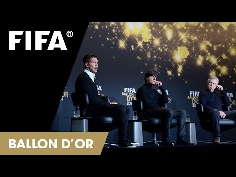 REPLAY: Coach of the Year Press Talk at the FIFA Ballon d'Or 2014