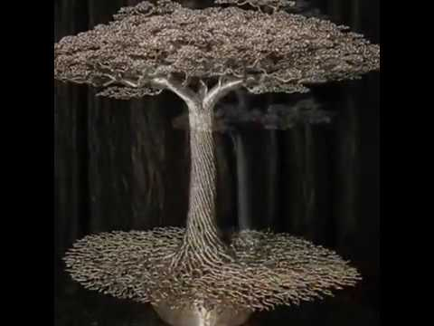 Wire Bonsai Tree Metal Bonsai Wire Structures Youtube