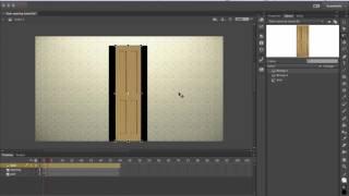 Animate CC nasıl açılır kapılar