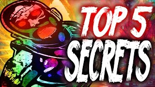 """Top 5"" ""Ascension Secrets""/""Ascension Fun Facts"" ""CoD Zombies"" ""Ascension Easter Eggs""!"