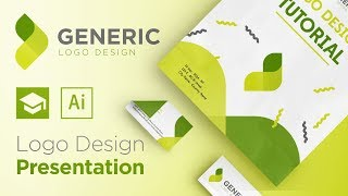 How To Make Your Logo Design Presentation | Adobe Illustrator Tutorial