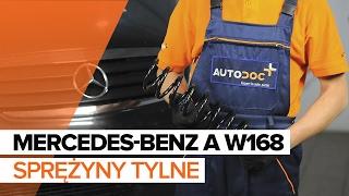 Jak wymienić sprężyny tylne w MERCEDES-BENZ A W168 TUTORIAL   AUTODOC