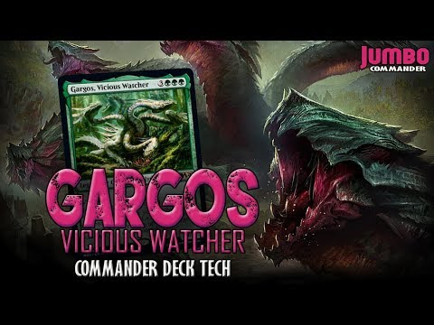 Gargos Vicious Watcher      Mtg Magic English