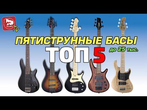 ТОП-5 доступных 5-ти струнных бас-гитар