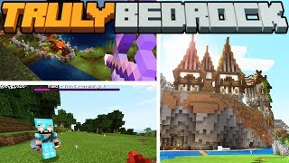 The Mansion Expansion & Accidental Raids?! - Truly Bedrock - S1 E10 - Minecraft SMP