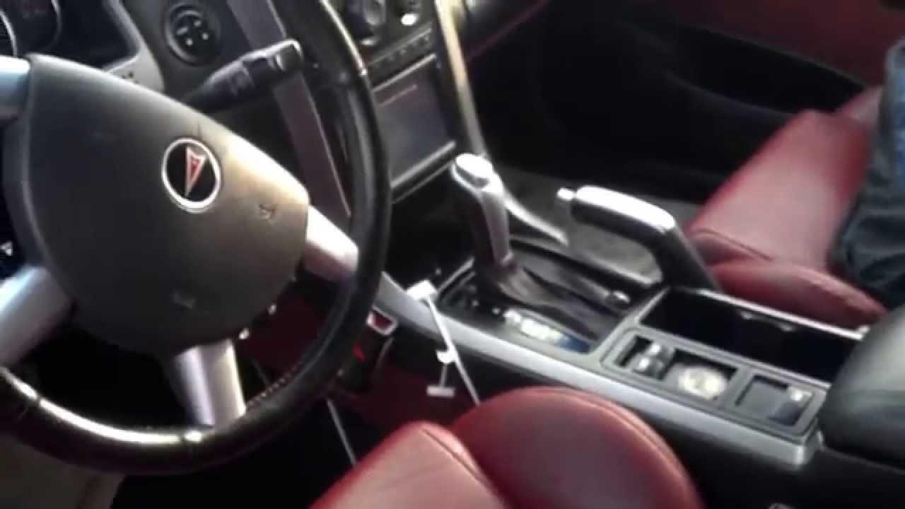 2006 gto manual transmission