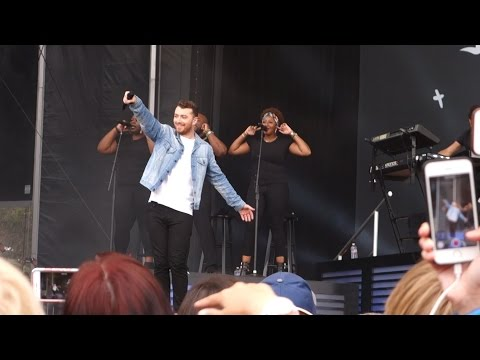 Sam Smith - La La La (Naughty Boy cover) – Outside Lands 2015, Live in San Francisco