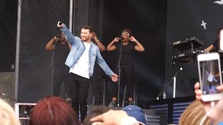 Sam Smith La La La Naughty Boy cover Outside Lands 2015, Live in San Francisco.mp3