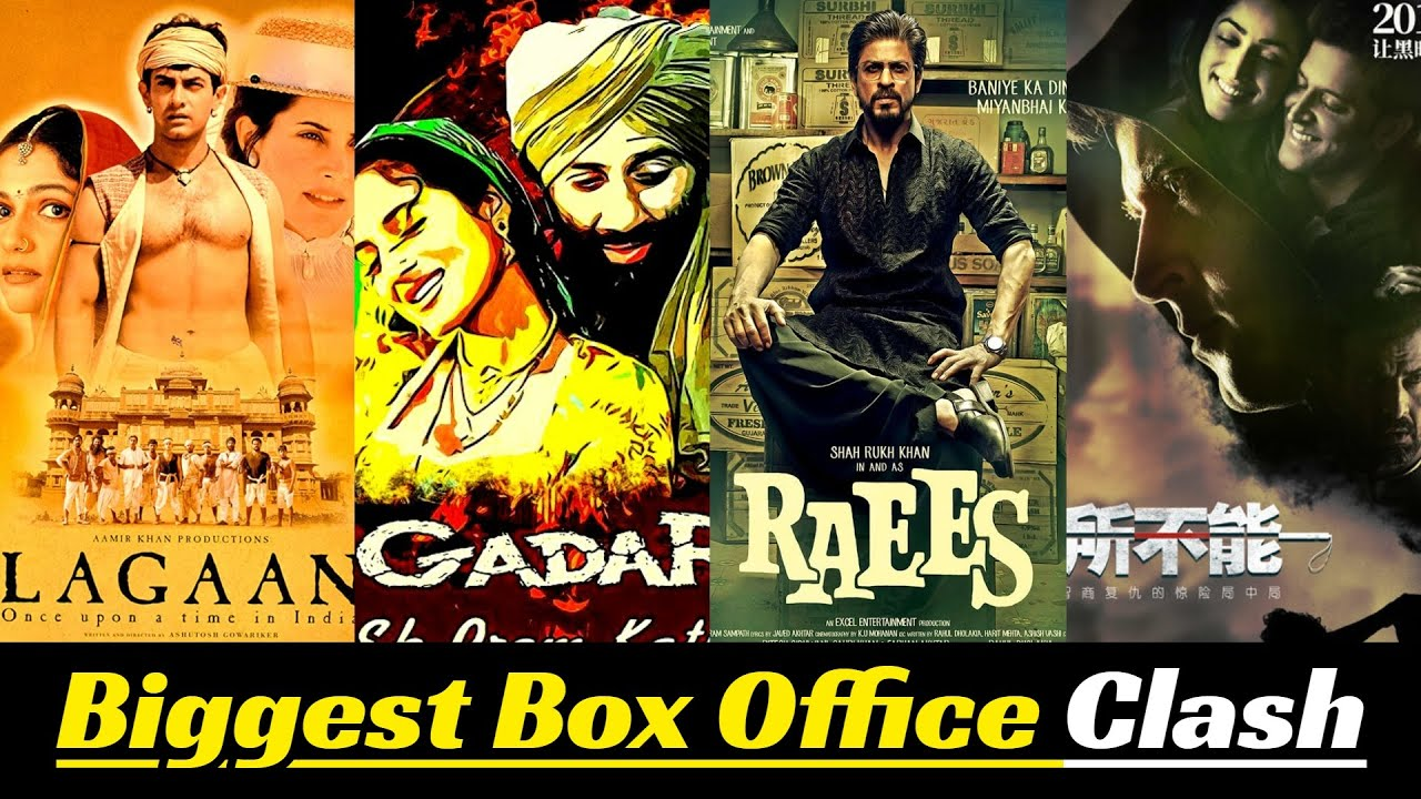 Download 10 Biggest Bollywood Movie Box Office Clashes of All Time | Shah Rukh Khan, Hrithik Roshan