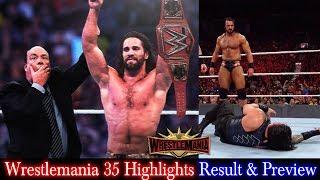 Trending Now WWE WWE Wrestlemania 35, April 7, 2019 Highlights Prev...