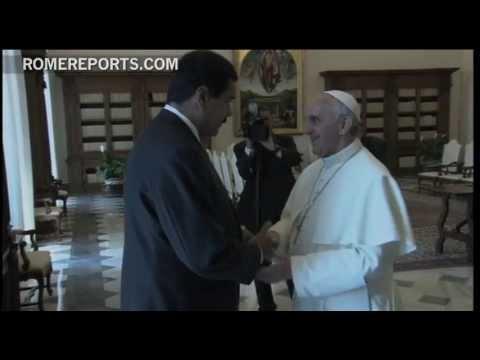 Pope meets with Venezuelan president Nicolás Maduro
