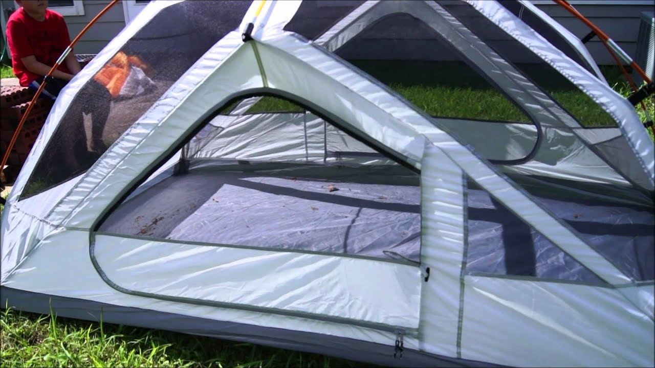 ~The Ozark Trail 4 Tent Assembly Tutorial~ & A How To : ONLY $26!!! ~The Ozark Trail 4 Tent Assembly Tutorial ...