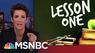 Donald Trump White House A Poor Source For Facts | Rachel Maddow | MSNBC