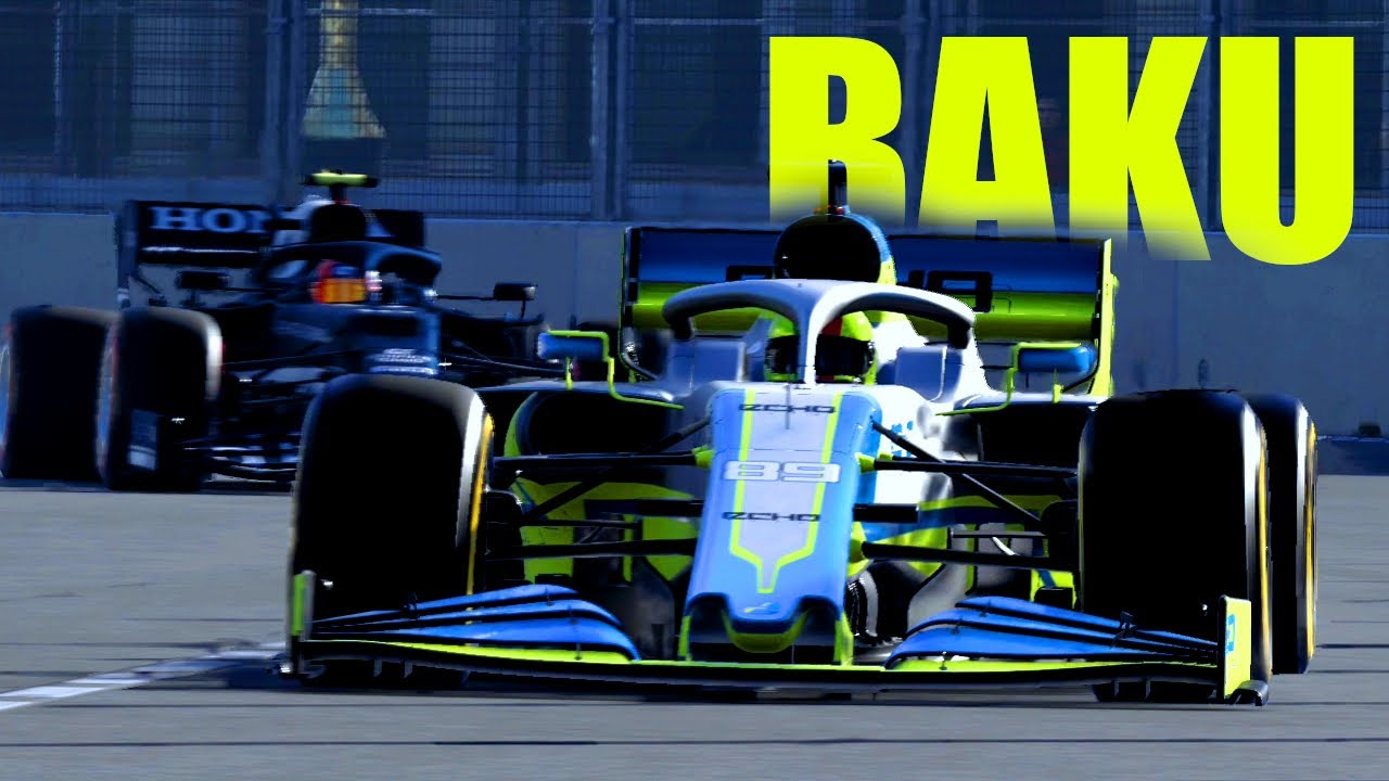 F1 2021: AGGUERRITI A BAKU