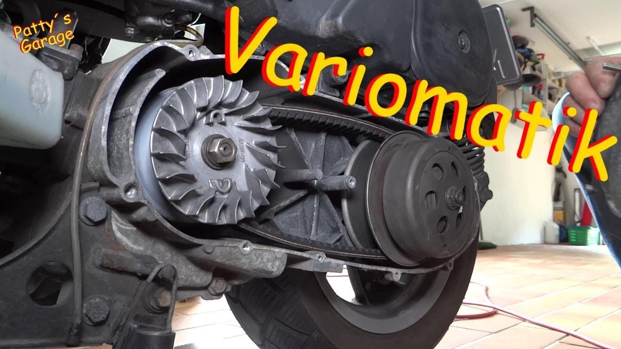 Wartung An Der Variomatik Yamaha Yp 125 Majesty Youtube