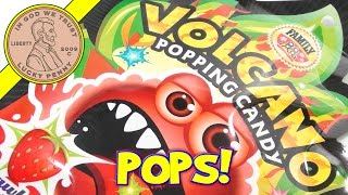 Volcano Popping Candy, Like Little Sugar Packets!