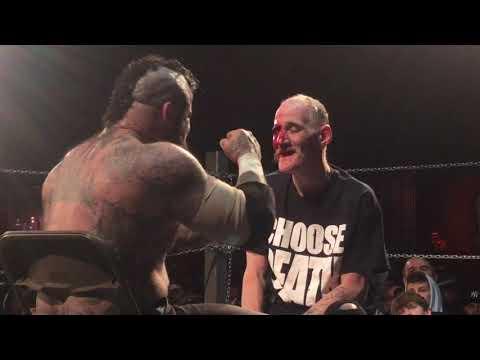 JLC Films Necro Butcher vs Shalak icw no holds barred