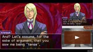 Repeat youtube video Apollo Justice: Ace Attorney #20 - Turnabout Succession ~ Day 3, Trial