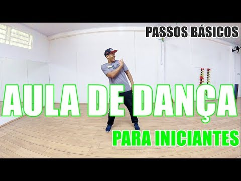 DE DANÇA PARA INICIANTES 2  PASSOS BÁSICOS  PERCA CALORIAS  APRENDA A DANÇAR