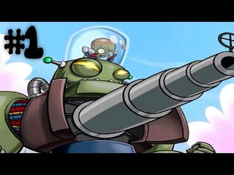 Plants vs. Zombies Heroes Gameplay Walkthrough Part 1 - Zomboss!