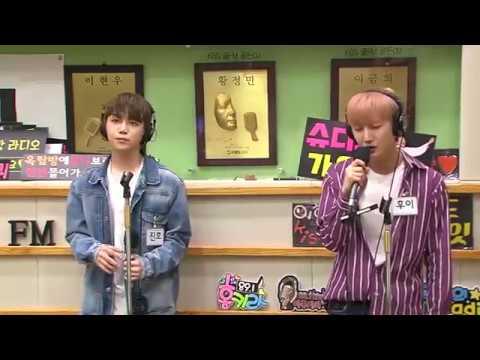 170619 Pentagon Hui and Jinho Performing 'Thank You' 고마워