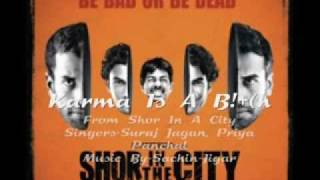 Shor in the city-Karma Is A B!+(h (CLEAN)and lyrics