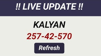 05/03/2020,KALYAN BADA DHAMAKA 42=42=42 JODI PASSSSS DIL SE CONGRATULATIONS TO ALL SUBSCRIBERS❤️❤️