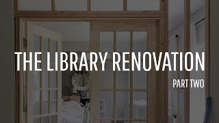 Building A Wall And Installing Double French Doors Diy Home Renovations You