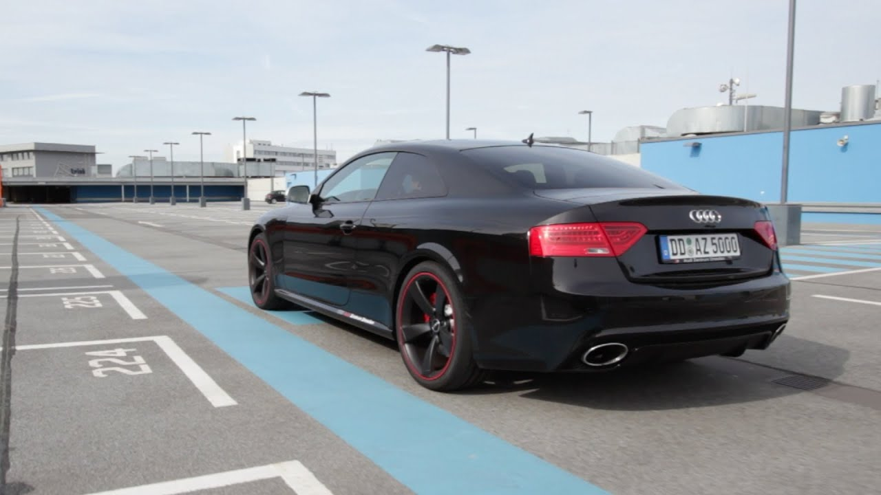 Audi Rs5 Coupe 450hp Test Drive And Review German Youtube