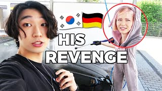 🇰🇷🇩🇪 Saying YES To Everything My Boyfriend Says For 24 HOURS   Korean German Couple